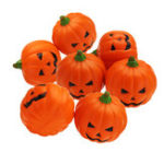 New Wholesale 20PCS 7CM Halloween Squishy Simulation Random Super Slow Rising Smile Pumpkin Squishy Fun Toys Decoration