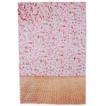 New 3x5FT Vinyl Pink Flower Wall Wood Floor Photography Backdrop Background Studio Prop