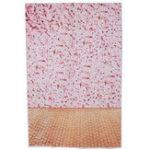 New 3x5FT Vinyl Pink Flower Wall Wood Floor Photography Backdrop Background Studio Prop