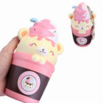 New Puni Maru Squishy Yummiibear Coffee Cup 18cm Slow Rising Toy With Tag Original Packing
