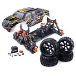 New ZD Racing 9116 1/8 4WD Brushless Electric Truck Metal Frame 100km/h RC Car Without Electric Parts