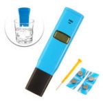 New Wattson TDS98302 0.01ppt Resolution Conductivity Test Pen Conductivity PH Meter Water Detecting Instrument
