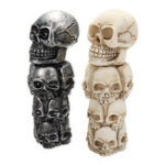 New Universal Car Skull Head Manual Transmission Gear Shift Knob Skull Shifter Lever