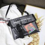 New Men And Women Jelly Hip-Hop Crossbody Bag Cover Shoulder Bag