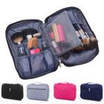 New IPRee® Nylon Women Travel Cosmetic Bag Waterproof Makeup Tool Storage Finishing Handbag Organizer Accessories