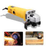 New 220V/50Hz 980W 11000r/min Angle Grinder Electric Angle Grinding Cutting Power Tools 100mm Diameter