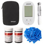 New Blood Glucose Meter Diabetic Testing Monitors with 50X Strips 50X Lancets Set