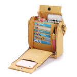 New Brenice Women Solid Multifunctional Bag Phone Bag