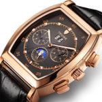 New TEVISE 8383A Week Date Display Automatic Mechanical Watch