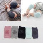 New Children Baby Crawling Knee Socks Thickening Cotton Multi-purpose Anti-slip Elbow Knee Pad