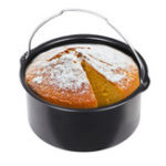 New Cake Pan Bread Baking Basket For Hot Air Fryer 1.6L Hot Air Fryer Hot Air Oven Accessories