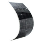 New Elfeland® SP-36 120W 12V 1180*540mm Monocrystalline Semi Flexible Solar Panel With 1.5m Cable & Rear Junction Box