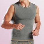 New Mens Thermal Undershirts High Elasticty Sleeveless Tank Tops