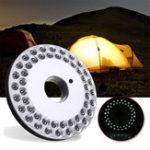 New 48 LED Camping Light Outdoor Portable Hang Fishing Lantern Emergency Lamp Night Light