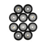 New 10Pcs/Pack  TEVO® POM Material Big Pulley Wheel with Bearings for V-slot 3D Printer Part