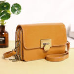 New Women Faux Leather Multi-Pocket Large Capacity Crossbody Bag