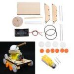 New Children DIY Handmade Materials Small Invention Tank Car Kit Science Model
