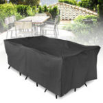 New Outdoor Furniture Waterproof Cover Garden Patio Table Chair Rectangular Shelter Anti-UV Dust Protector