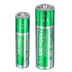 New Delipow 1.5V 2800mAh USB Rechargeable AA AAA Lipo Battery 1 Hour Quick Charging