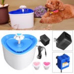 New 2L Pet Bowl Dog PET Drinking Water Fountain Bowl Drink Dish