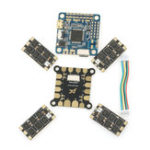 New Original Airbot OMNIBUS F4 V6 Flight Controller Furling32 35A 3-6S Blheli_32 Brushless with PDB for RC Drone FPV Racing