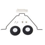 New 2mm Aluminum Landing Gear Set For Su 27 Electric RC Airplane