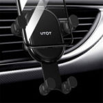 New TOTU Gravity Linkage Automatical Lock Car Mount Air Vent Holder for Samsung Xiaomi Mobile Phone
