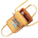 New Brenice Women Square Card Holder Phone Bag