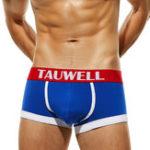 New Mens Cotton Big U Convex Pouch Breathable Boxer Briefs