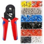 New 1200pcs 800pcs Connector Wire Terminal Kit with Crimper Pliers Wire Stripper Tool