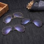 New Anti Blue Ray Full Frame Optical Eye Glasses Retro Glasses