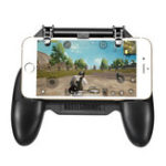 New SR Scalable Gamepad Game Controller Joystick Cooling Fans Charger for PUBG for 4.7-6.5inch Mobile Phone