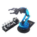 New LOBOT STM32 Open Source DIY RC Robot Arm APP/Stick Control Compatible With Arduino