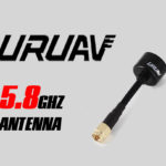 New URUAV Lollipop 5.8GHz 2.3dBi Super Mini Antenna RHCP SMA Male / RP-SMA Male For FPV Racing Drone