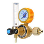 New M14x1.5 0-25mpa Argon Pressure Regulator Flow Meter Gauge