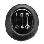 New Universal 5 Speed Car Leather Shift Knob Manual Gear Stick Shift Shifter Lever