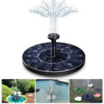 New 7V 1.4W Solar Fountain Solar Panel Garden Water Pump for Pond Fish Tank