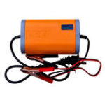 New 12V 2A Motorcycle Scooter Automatic Charger Lead Acid Battery 3 Plug With LED Signal Light