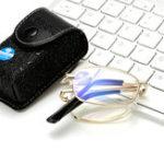 New KCASA Anti Blue Ray Magnifying Reading Glasses Portable