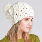 New Womens Hand-Woven Knitted Beanie Hat Earmuffs Skullcap