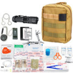 New 177 In 1 First Aid Kit Outdoor Camping Hunting Portable Emergency Survival Tools Rescue Bag