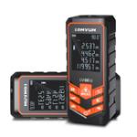 New LOMVUM LV 66U 100M Handhold Laser Rangefinder Digital Laser Distance Meter Electrical Level Tape Laser Distance Measurement