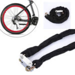 New BIKIGHT 1.2m Metal Cycling Bicycle Motorcycle Heavy Duty Chain Lock Padlock Secure Bike Lock