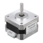 New HANPOSE 28mm Nema 17 Stepper Motor 42 Motor 17HS2408 42BYGH 0.6A 12N.cm 4-lead For CNC Laser 3D Printer Motor