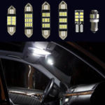 New 12V White Car Interior LED Lamp Replacement Bulb Reading Dome Lights for VW MK5 Golf GTI