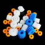 New 26pcs Plastic Spindle Worm Motor Gear Set And Sleeves 2mm 2.3mm 3mm 3.17mm 4mm