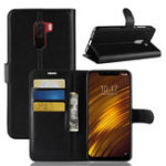 New Bakeey Flip Card Slot PU Leather Cover Protective Case For Xiaomi Pocophone F1