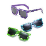 New Children Square Glasses Fashion Style Sunglasses Kids Boys Girls Decoration Action Game Toys Party