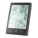 New BIKIGHT 2.7Inch LCD Screen Bike Speedometer Wired/Wireless Waterproof Bicycle Odometer