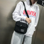 New Women Canvas Hip-hop Crossbody Bag Shoulder Bag